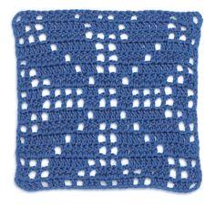 Stitchfinder: Crochet Block: Traditional Star