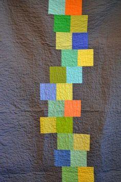 Ann Arbor Modern Quilt Guild  Robert Kaufman Kona Solids Challenge.