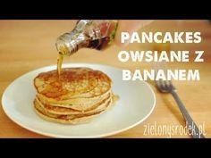 Placki bananowe z płatkami owsianymi. Tylko 3 składniki! Bez mąki, bez cukru. Zdrowe i pyszne śniadanie.