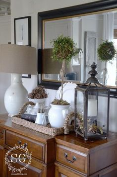 Tips To Decorating And Styling The Dining Room Buffet Table Www Homewithkeki