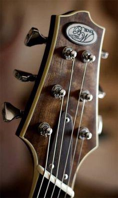 Black Water Guitars headstock