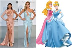Irina Shayk/Heidi Klum at the amfAR Gala in Cannes :: FilmMagic (2); www.wayfair.com
