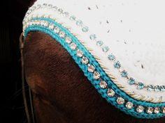 Crochet Horse Fly Bonnet Pattern Custom Horse Fly Bonnets