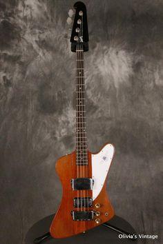 Gibson Thunderbird IV Bass Bi-Centennial 1976 Natural   Reverb