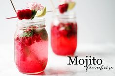 Sortir des habitudes en essayant une nouvelle version du fameux cocktail cubain: le Mojito à la framboise