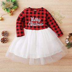 This is a link to Amazon and as an Amazon Associate I earn from qualifying purchases. Christmas Dress Toddler Baby Girls Outfits Kids Tulle Party Dress Long Sleeved Plaid Top Tutu Skirt Set for 1-4T #babygirldresses #babyclothes Eyebrow Makeup, Makeup Brush, Kids Outfits, Casual Outfits, Fashion Outfits, Baby Girl Dresses, Baby Girls, Toddler Christmas Dress, Outdoor Trees