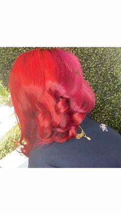 Natural Updo, Dyed Natural Hair, Natural Hair Care, Natural Hairstyles, Baddie Hairstyles, Girl Hairstyles, Braided Hairstyles, Personal Hygiene, Hair Colours
