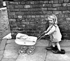 Who needs a Playstation? Pictures of an age when happiness was a stick of chalk…