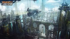 ratchet & clank future - concept art