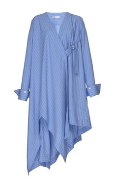 Striped Finale Shirt Dress by palmer//harding Fall Winter 2018 Palmer Harding, Blue Colour Dress, Stylish Dresses For Girls, Long Shirt Dress, Muslim Fashion, Fashion Dresses, Casual, Fashion Design, Shirts