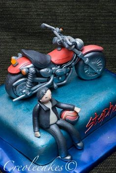 Harley Davidson Cake by creolecakes, via Flickr