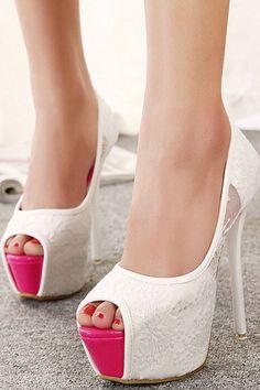 Sexy fish head sandals heels