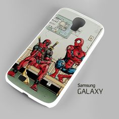 Funny Spiderman and Deadpool Samsung Galaxy S3 S4 S5 Note 3 Cases – firetsy