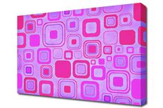 Pink Squares http://www.the-canvas-art-shop.co.uk/products/PINK-SQUARES-672236.aspx