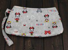 Minnie Zipper Clutch Minnie Mouse Bag by TheAmberRoseEmporium