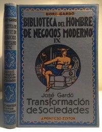 TRANSFORMACIÓN DE SOCIEDADES . José Gardó. J. Montesó-Editor. Barcelona, 1954. #vintage #mercurio