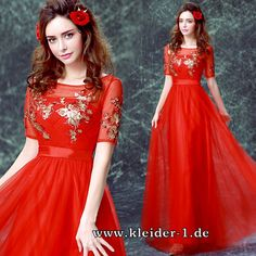 Abendkleid Ofira in Rot