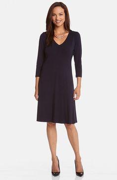 Karen Kane V-Neck Jersey Dress #madeinusa