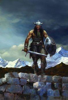 Conan, por Justin Sweet - A Espada Selvagem de Conan