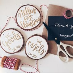 I didn't get my act together in time to order some of these amazing ornaments from @chalkfulloflove but had to share this feed with you. It's incredibly inspiring, you must check her out & follow her. I am in awe!!! Have a fantastic Sunday!! #christmas #ornaments #etsyshop #iamsoinspired #calligrahy #iwishicoulddothis