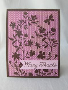 Scrapbooking Cafe Online: Silhouette Vines - combining dry and heat embossing