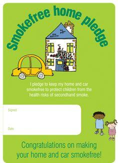 Smokefree Home Pledge A5