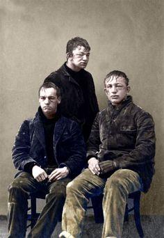 Студенты после игры в снежки, 1893