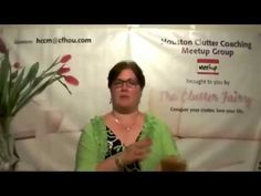 At the April 2015 meeting of the Houston Clutter Coaching Meetup, Gayle Goddard, professional organizer and owner of The Clutter Fairy, returns to the theme ...