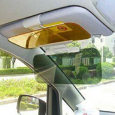 Bil Dag og nat refleksfri Goggles Night Vision Driving Mirror solskærme - USD $ 6.99