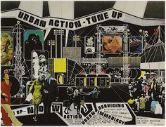 Ron Herron-Instant city (1969)
