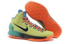 designer fashion 8c634 efbe1 Nike Zoom Kevin Durant s KD V All-Star Basketball shoes Orange Black