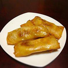沢山もらったバナナでルンピア( ^ω^ ) 簡単、でもしっかり南国オヤツの味♫ クックパッドさんのレシピで作りましたぁ*\(^o^)/* - 27件のもぐもぐ - バナナ ルンピア♫ by magnolia0403