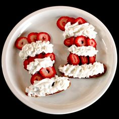 Dr. Seuss Recipes:  Cat in the Hat pancakes. Fun! (And surely there are pancakes in there somewhere.)