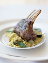 Lamb is much leaner than pork, but still get the same (kind of) taste, with the same recipes.