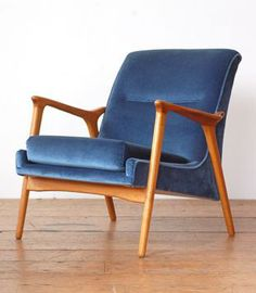 Tangoandjames: Revamped Retro Armchair With Fab New Upholstery | Home |  Pinterest | Armchairs, Upholstery And Retro