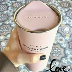 xo ❥ ✿ ❥ ✿ ❥ ✿ ❥ #Pink #coffee