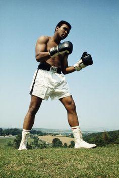 Muhammad Ali. Training.