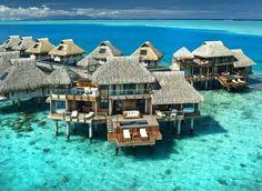 Bora Bora, French Polynesia, Hilton Presidential Suite