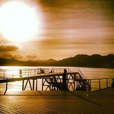 """#SanSebastian #Donostia #Spain """"Frío Sol de Invierno""""  Foto enviada por: Milagros de Diseño  Lugar: Puerto  Fecha: Febrero 2013"""