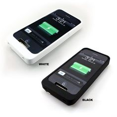 My sister has one and it's spectacular! UNU DX Protective Battery Case For iPhone 4/4s - $25.99. http://www.tanga.com/deals/f3548fe95a/unu-dx-protective-battery-case-for-iphone-4-4s