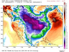 The coldest air since at least 1994 is expected to dominate the U.S. weather picture for the next week.