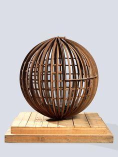 Mario Ceroli, I, 1968 (lo), iron and coal, 92cm, Private collection, Florence; courtesy Tornabuoni Art Decorative Bowls, No Response, British, Ceramics, Sculpture, Collection, Home Decor, Minimalism, Mario