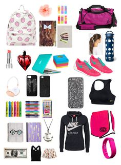 """What's in My Bag?"" by cldquiroga ❤ liked on Polyvore"