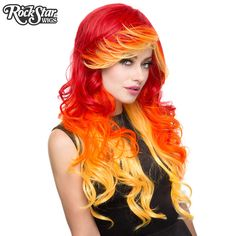 RockStar Wigs® <br> Triflect™ Collection - Screaming Crimson -00228