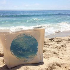 The Soul Project - SALTY SOUL Tote Bag www.soulproject.com