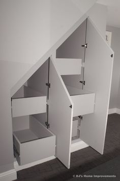 Storage and Closets in Basement by DJ's Home Improvements - closet - new york - DJ's Home Improvements