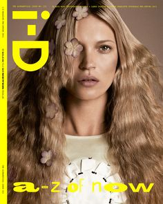 i-D magazine Pre-Spring 2013 magazine - Kate Moss photographed by Daniele and Lango
