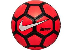 Nike Menor Futsal Ball - Red and Black