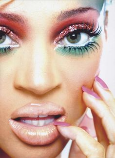 """The art of make-up photography """" Nik Pace test shot """""""
