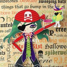 Projetos Inventivos - festa pirata menina